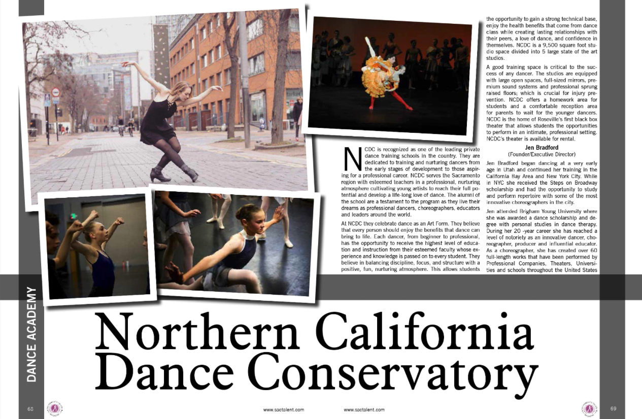 NCDC Sacramento Talent Magazine